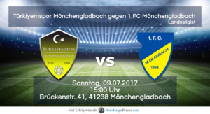 Türkiyemspor vs 1.FC Mönchengladbach